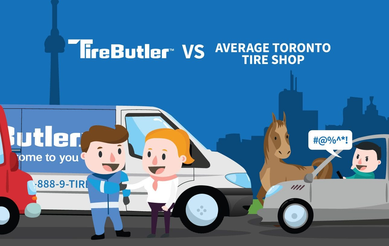 Tire Butler S Mobile Tire Service Vs Toronto Tire Shops