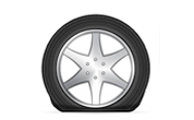 Don't fall flat on tire maintenance – our mobile tire service includes flat repairs for damaged or punctured tires.