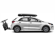 We carry THULE products to help you transport safely and easily including racks, hitches